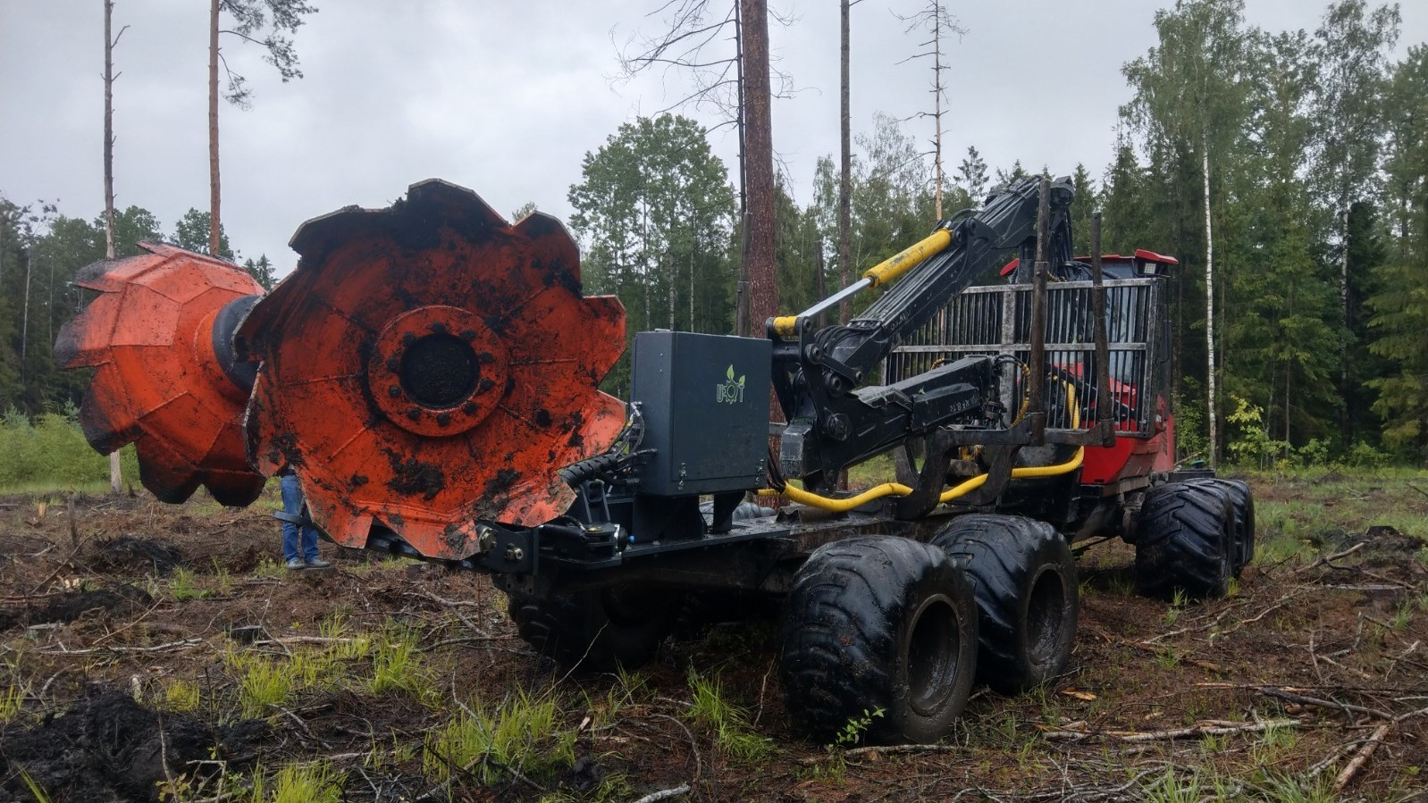 UOT-3000 Forest trencher