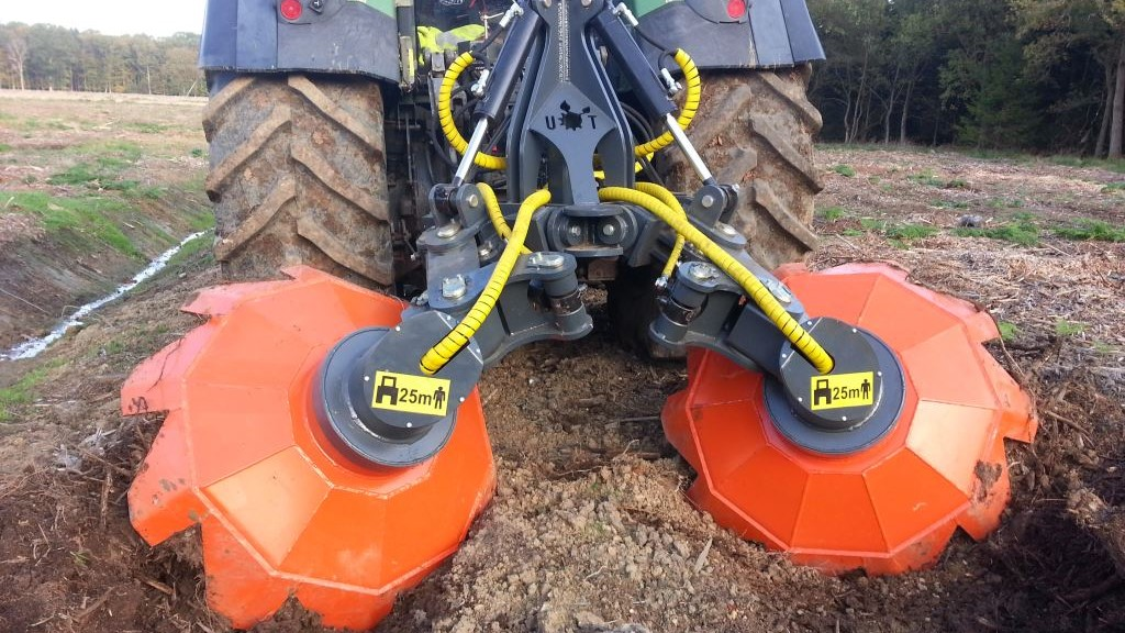 UOT-2000A Forest trencher